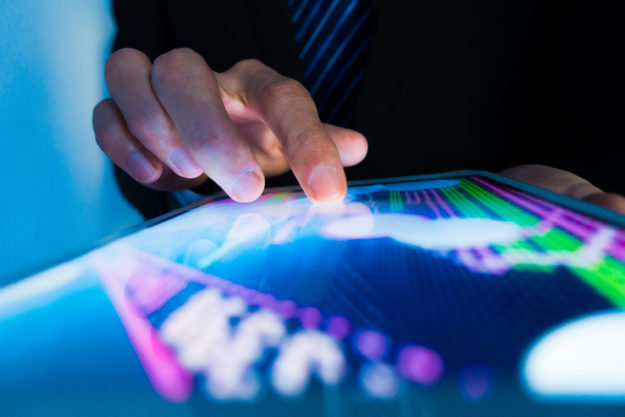 a consultant analyzing data from a marketing analytics consulting firm or marketing analytics consulting firms