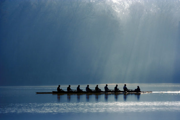 Canoe team work organizational health
