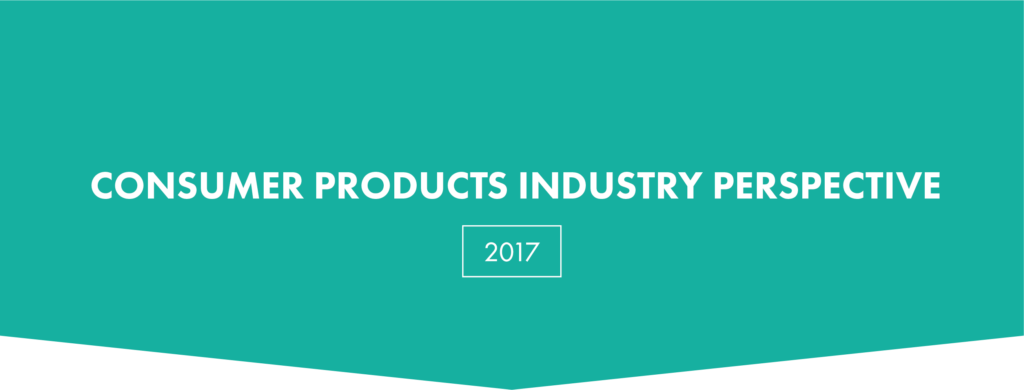 consumer products trends 2017