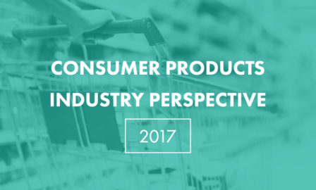 2017 Consumer Products Trends