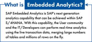 definition of embedded analytics for sap s/4hana blog