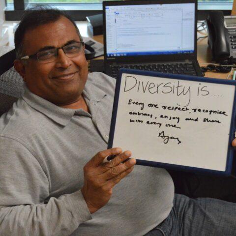Ajay Diversity Quote