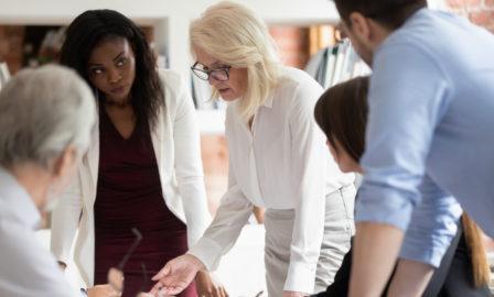 Business transformation process built on trust